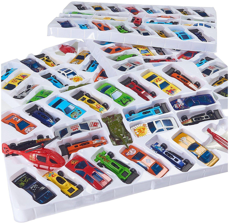 Prextex 100 Pc Die Cast Toy Cars Party Favors