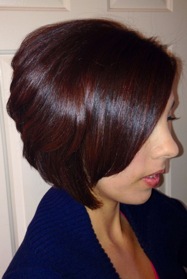 Mahogany hair color hair colors hairstyles in 2019 pinterest