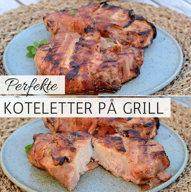 Koteletter På Grill Sådan Griller Du Koteletter Perfekt Meduden