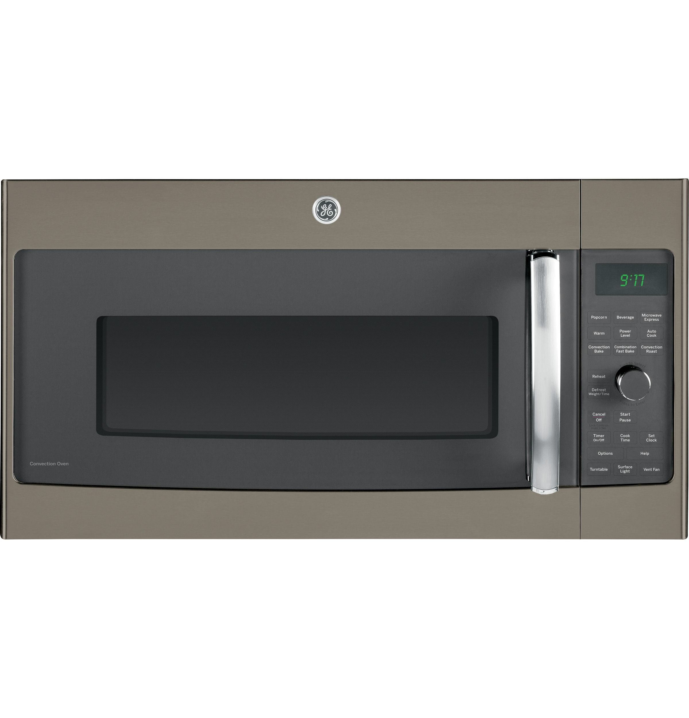 Ge Profile Series 1 7 Cu Ft Convection Over The Range Microwave Oven Pvm9179efes Range Microwave Microwave Convection Oven Stainless Steel Microwave