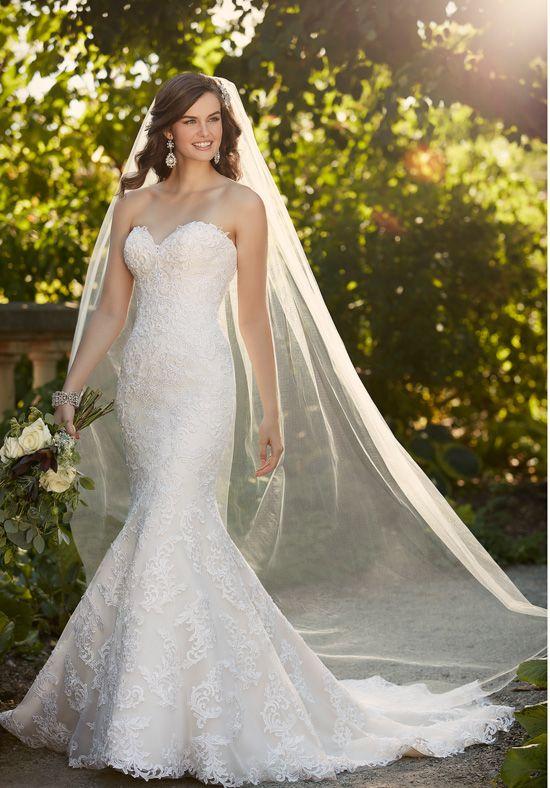 Essense of Australia D1985 Wedding Dress - The Knot | Essence of ...