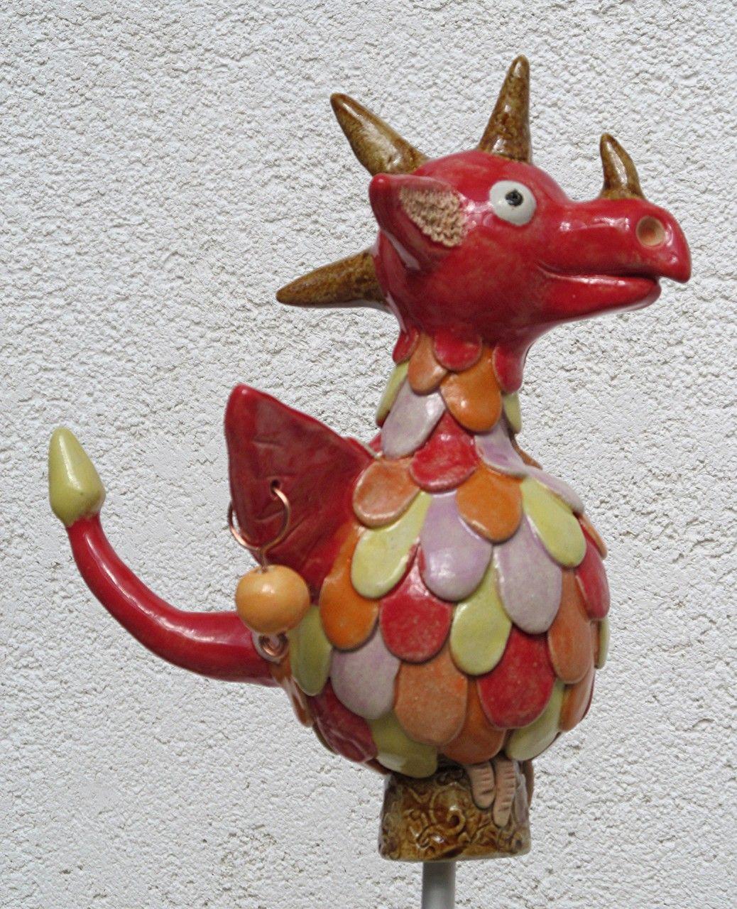 Innenfarben für haus dekorative keramikunikate für haus und garten in fröhlichen farben