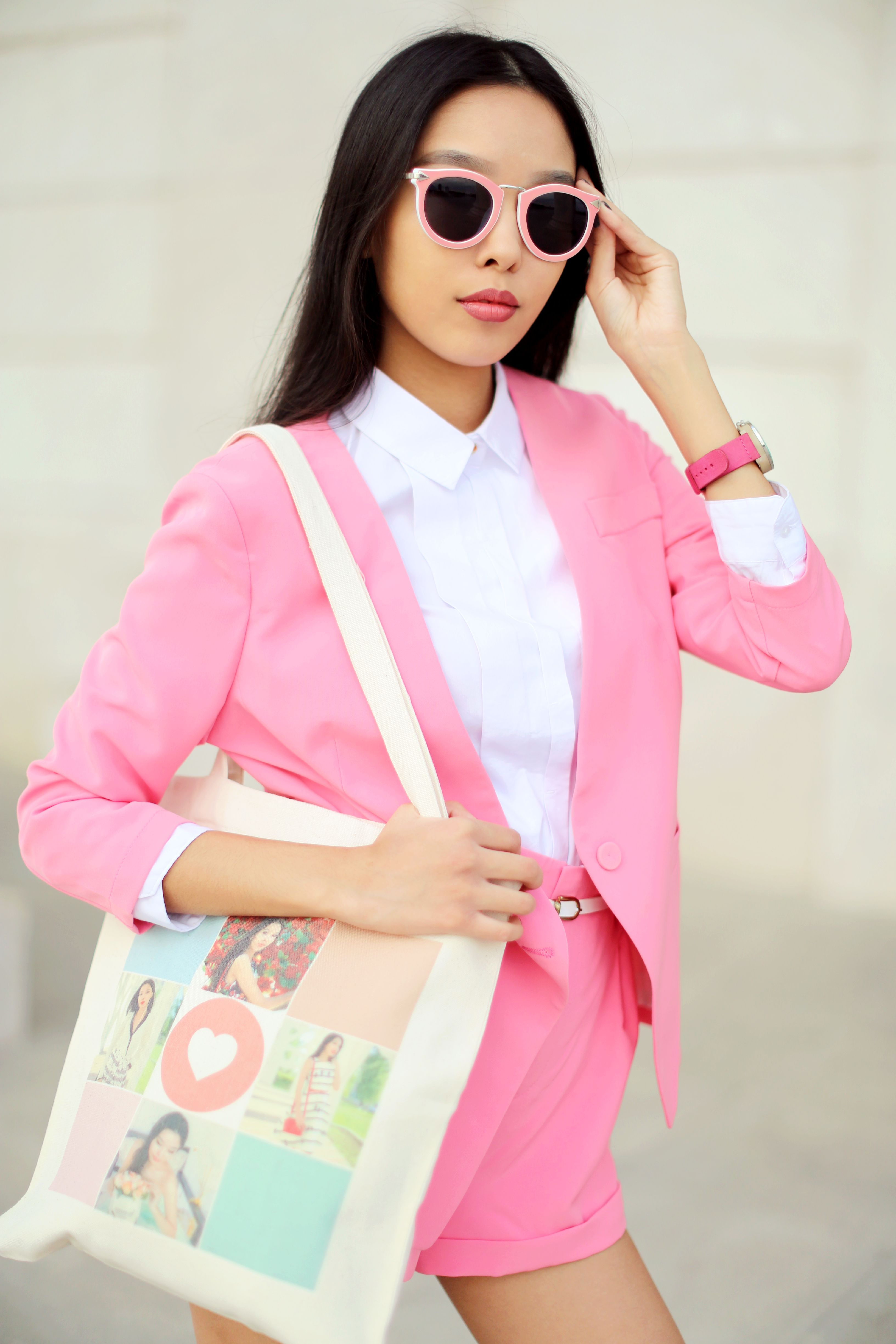CANDY PINK SUIT