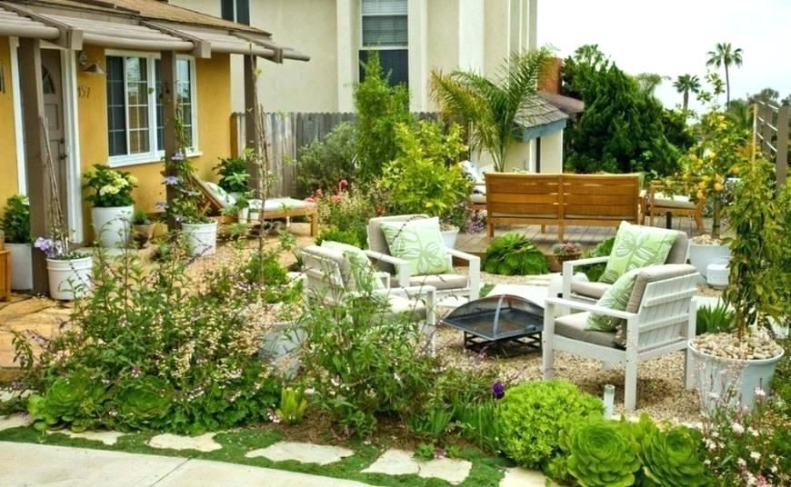 Hardscape Concrete Experts San Diego Front Yard Design Garden