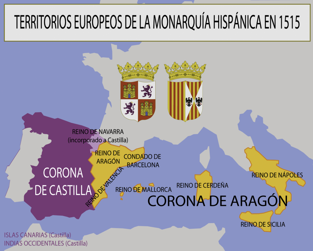 Evolución Del Escudo De España Heráldica Hispánica Historia De España España Escudo