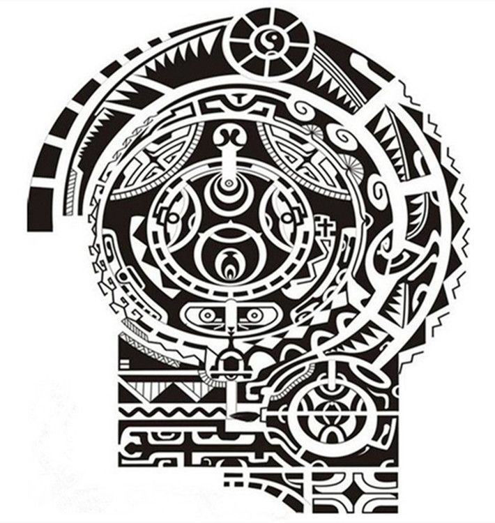 waterproof tattoo sticker wrestler dwayne johnson half a totem tattoo arm sticker shoulder. Black Bedroom Furniture Sets. Home Design Ideas