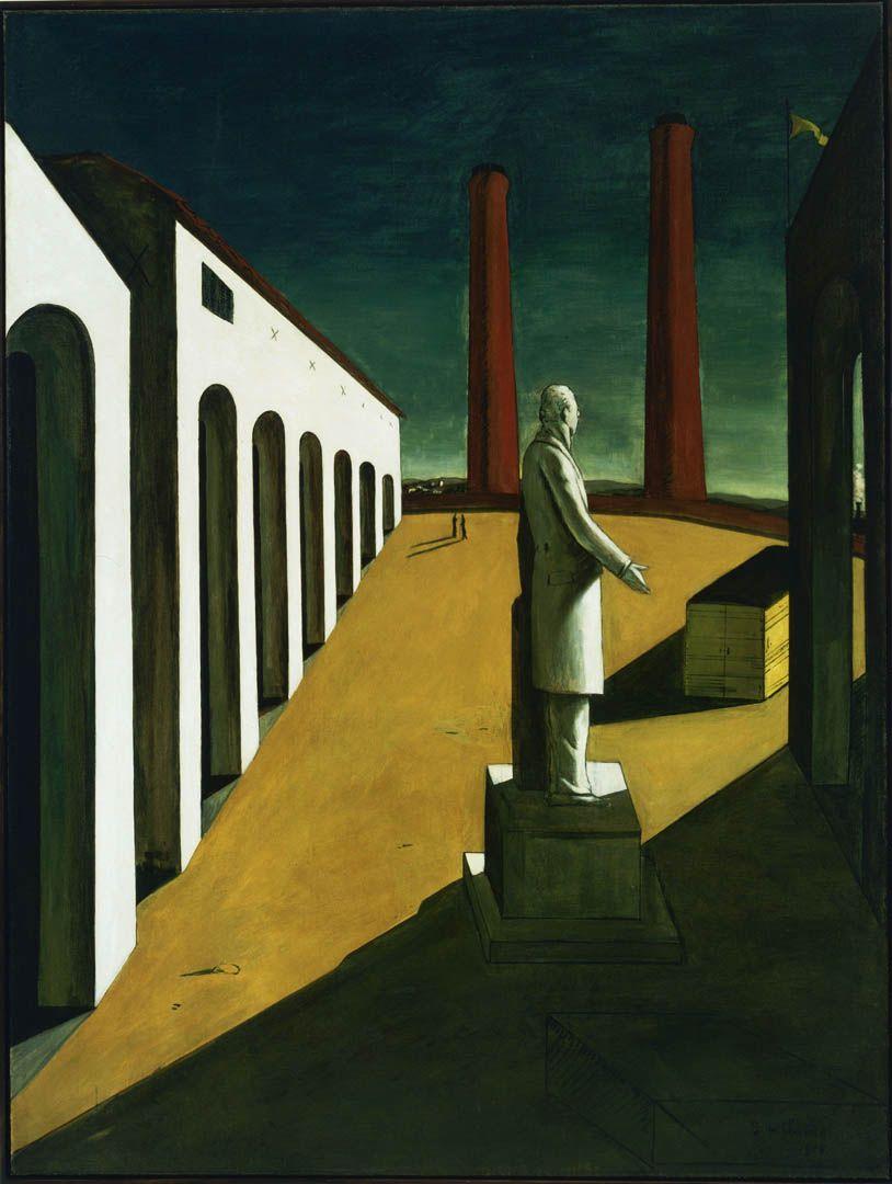 ARTE METAFISICA: L'enigma di una giornata - Giorgio De Chirico - 1914. Museum of Modern Art (MOMA), New York.