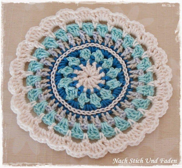 Nach Stich Und Faden Crochet Crochet Crochet Mandala Und