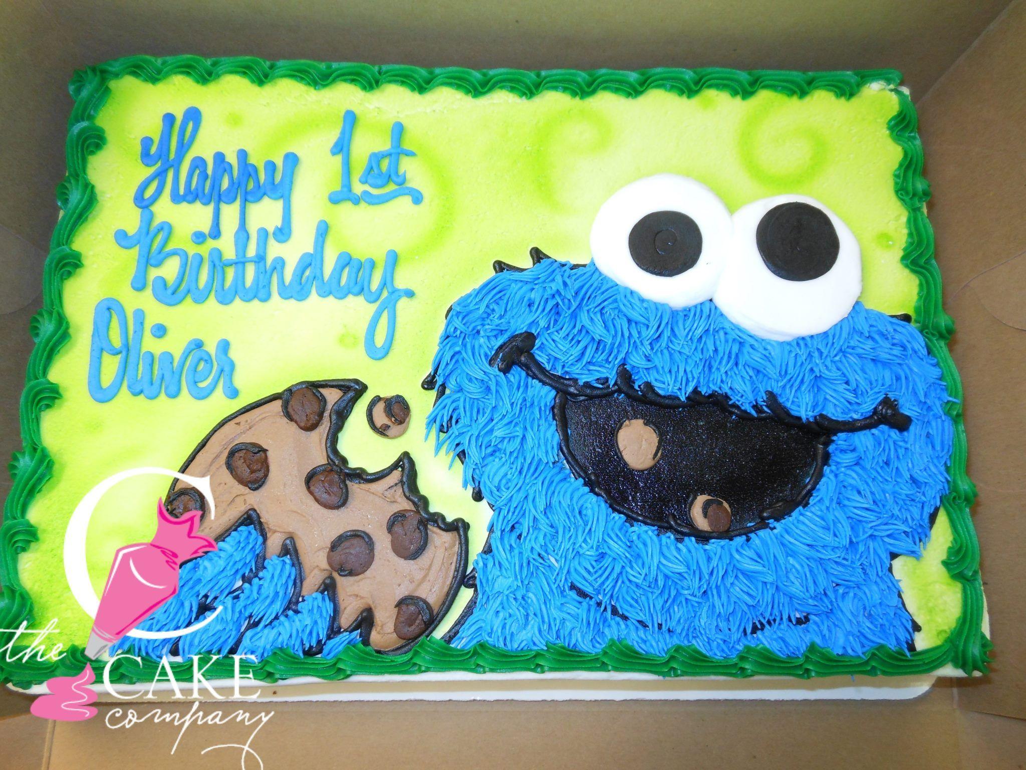 Cookie Monster Cake Monster Birthday Cakes Monster Cookies