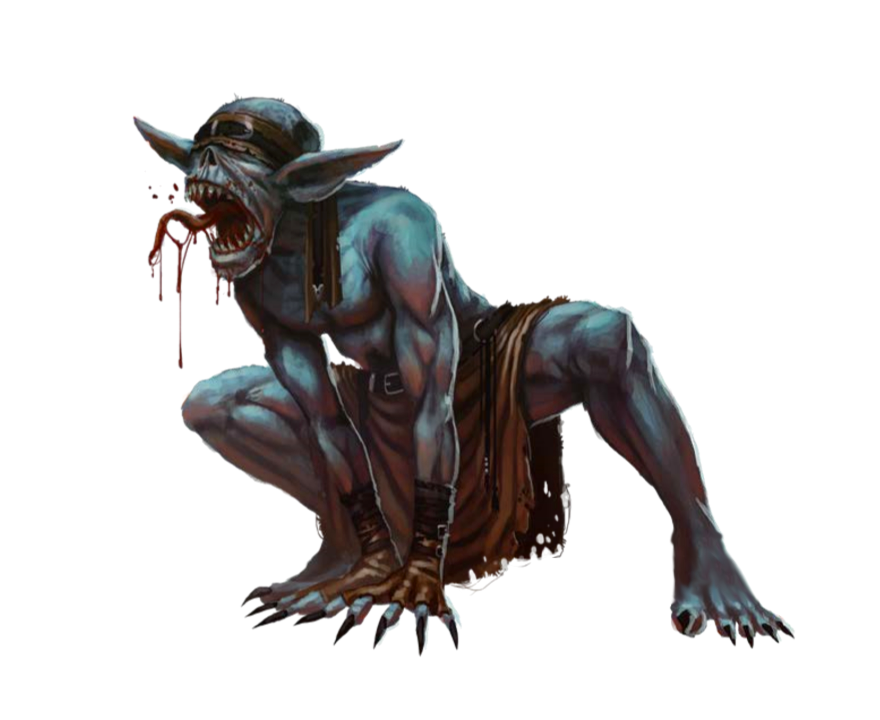 Ghoul - Undead Monster - Pathfinder PFRPG DND D&D 3 5 5E 5th