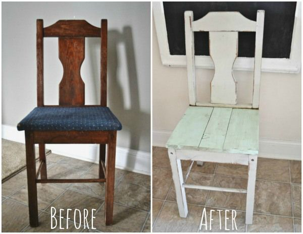 How to fix a chair seat wood plank chair