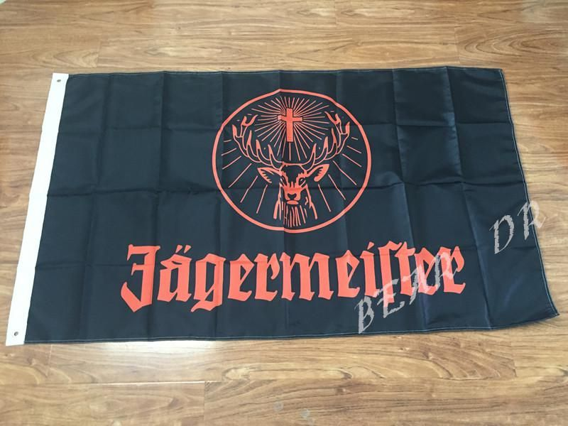 Free shipping! Jagermeister Banner