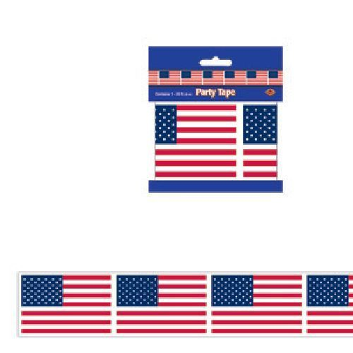 American Flag Party Tape Patriotic 4 Th Of July B66134 American Flag Party American Flag Beistle