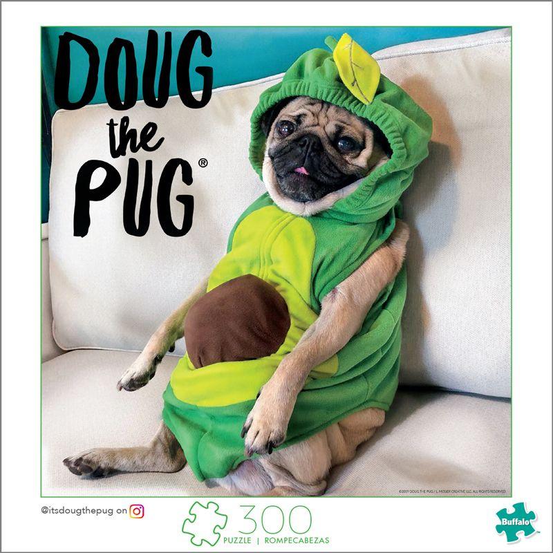 Doug The Pug Avocado Doug 300 Large Piece Jigsaw Puzzle In 2020