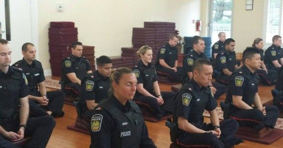 Canadian Police Meditate to Become Good Karma Cops ...