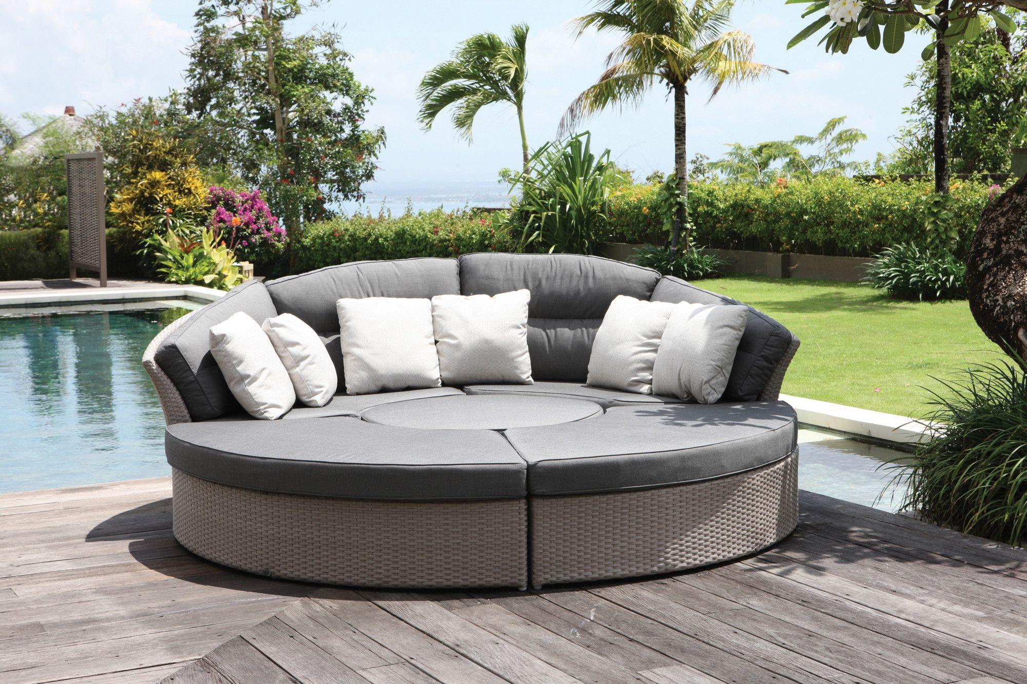SkyLine Design Bisham Day Bed Sofa Set