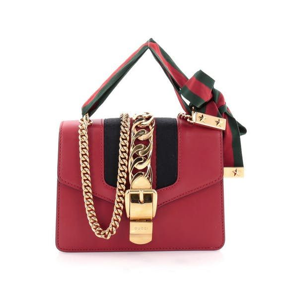 e4b886f5deaa Sylvie Chain Shoulder Bag Leather Mini   Shoulder bags, Shoulder and ...