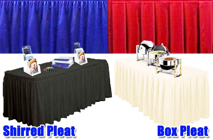 Table skirts stage skirting flat wrap stage skirt pinterest table skirts stage skirting watchthetrailerfo