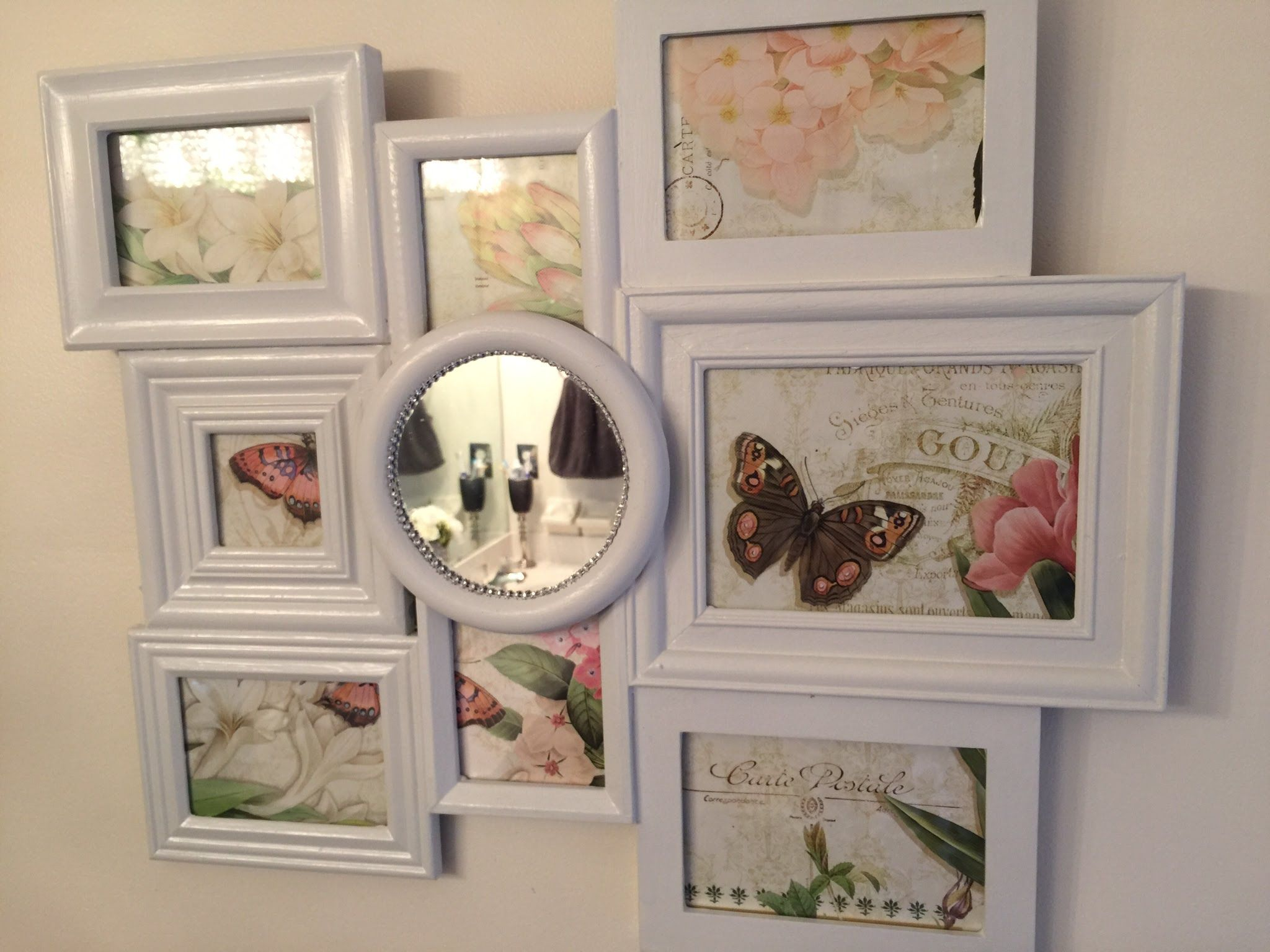 multi photo frames collage diy - Diy Picture Frame Collage