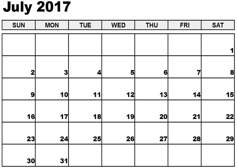 July Calendar 2017    hightidefestivalorg july-calendar-2017 - sample monthly calendar
