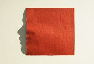 Origami   Japanese paper art   light and shadow   Face Profile