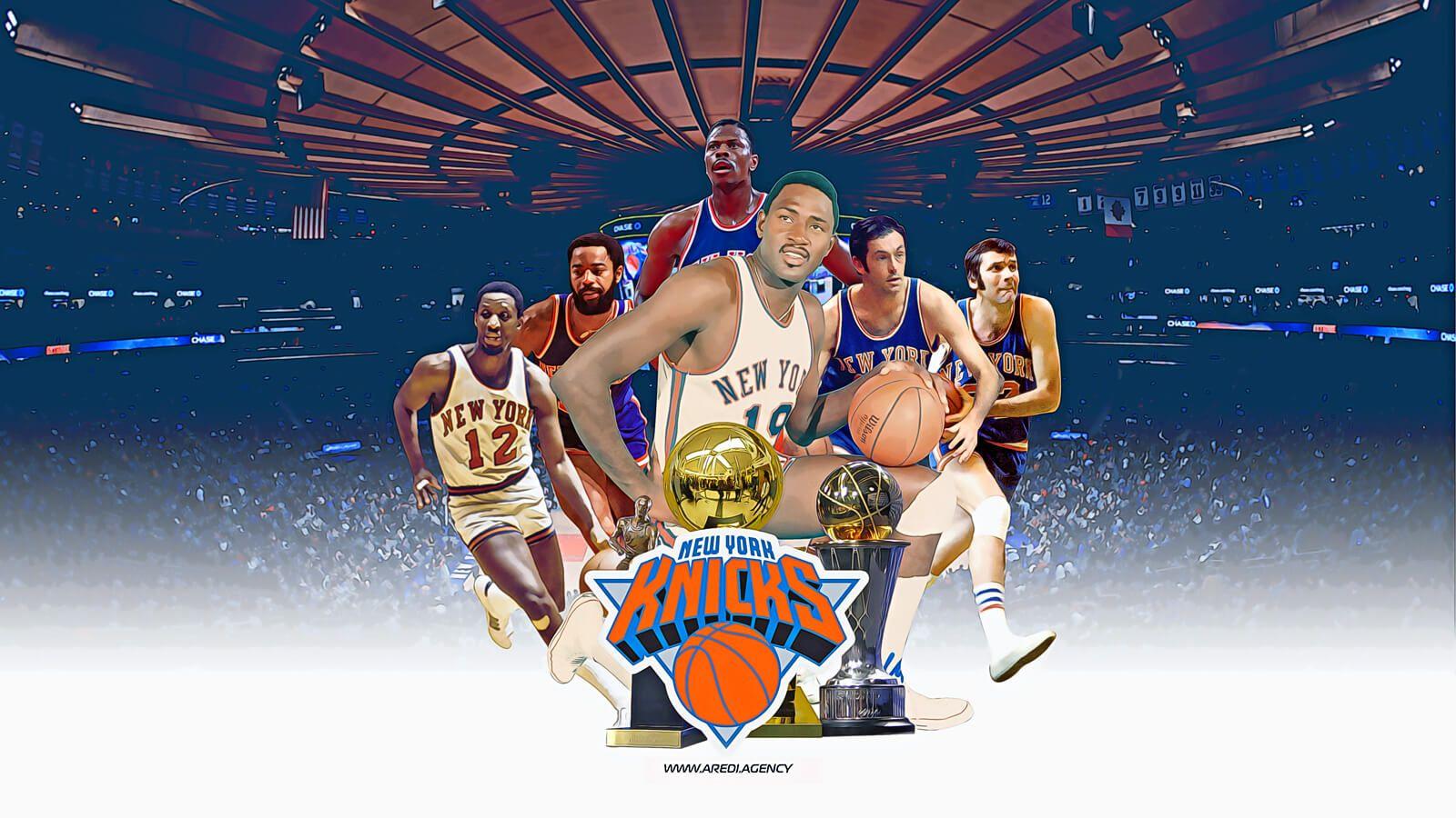 New York Knicks Knicks Wallpaper Art Sport Create Design