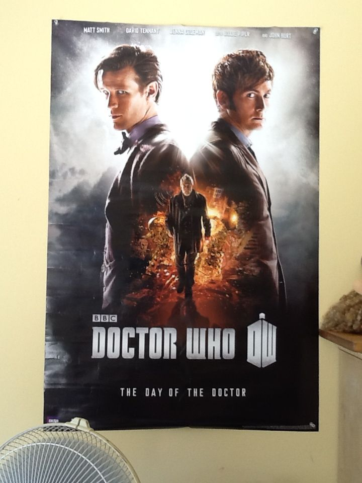 My new doctor who poster