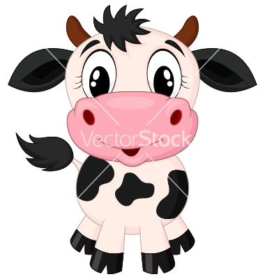 Cute Cow Cartoon Vector Art Download Vectors 2008139 Cow Cartoon Images Animated Cow Cartoon Cow Face