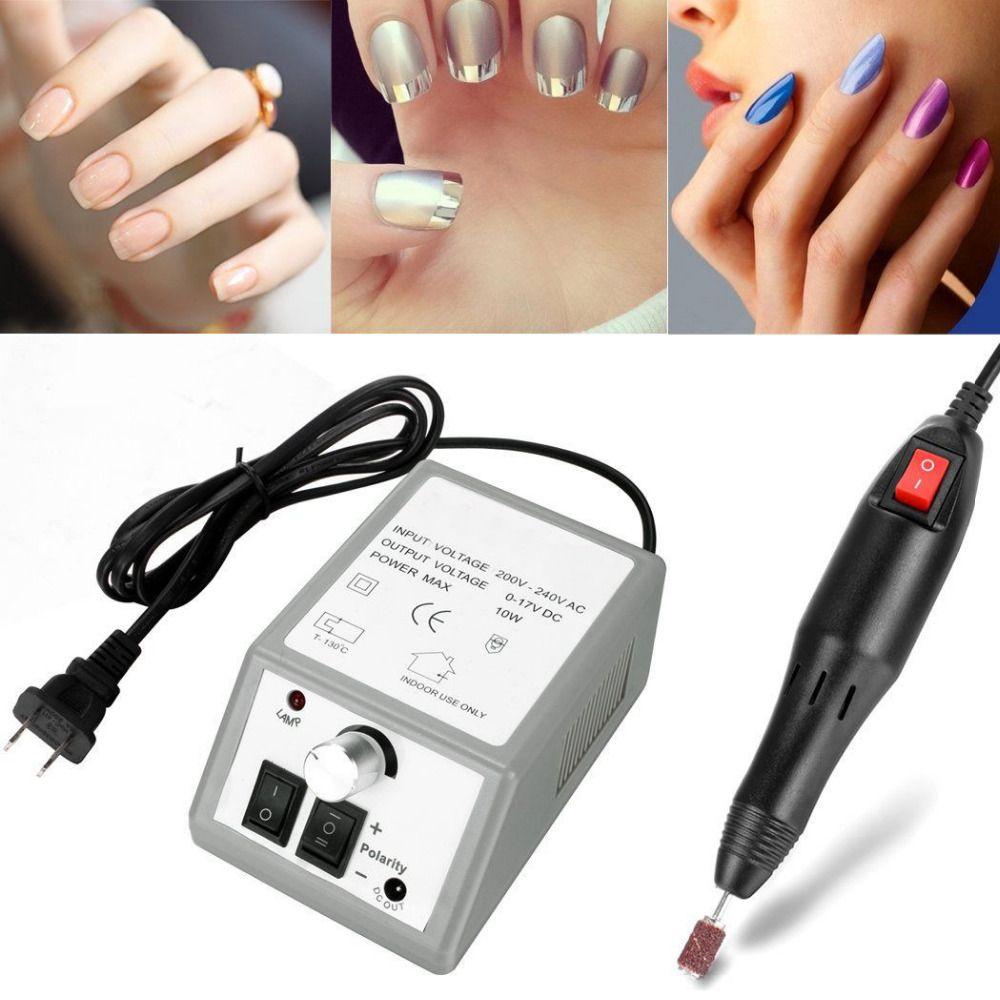 sale electric nail art drill machine 20000rpm equipment manicure kit ...