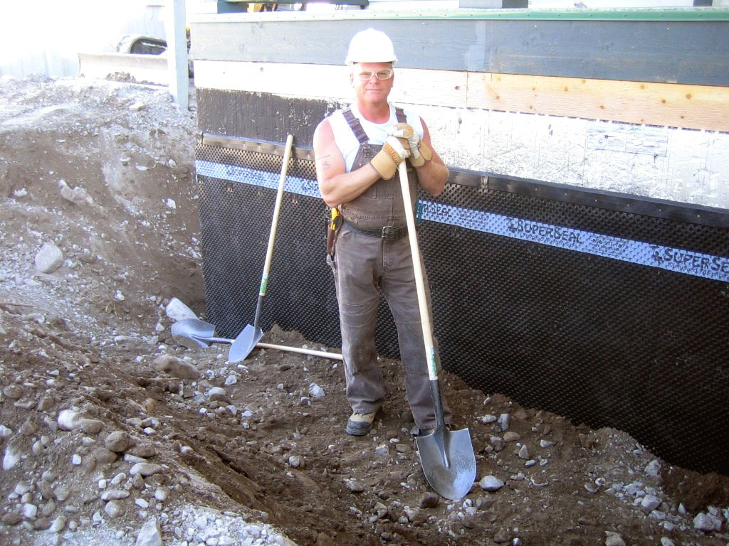 Mike Holmes Using SUPERSEAL Foundation Membrane