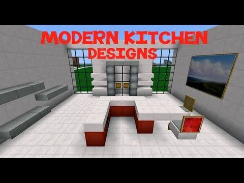 Minecraft Modern Kitchen Designs Idei