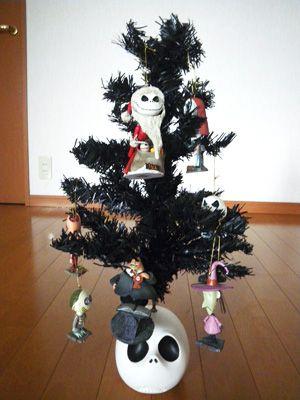 The Nightmare Before Christmas mini tree Christmas Pinterest - the nightmare before christmas decorations