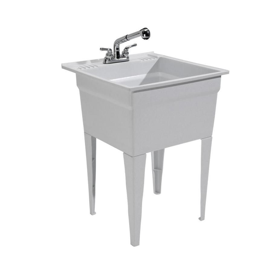 Cashel 23 75 X 24 75 Granite Freestanding Polypropylene Laundry