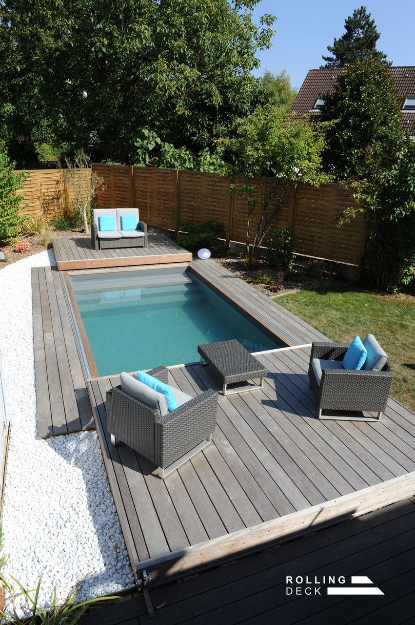 Terrasse Piscine Mobile Backyard Plunge Pool Ideas Deck