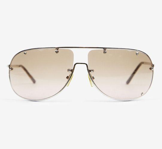 Christian Dior Silver Sunglasses