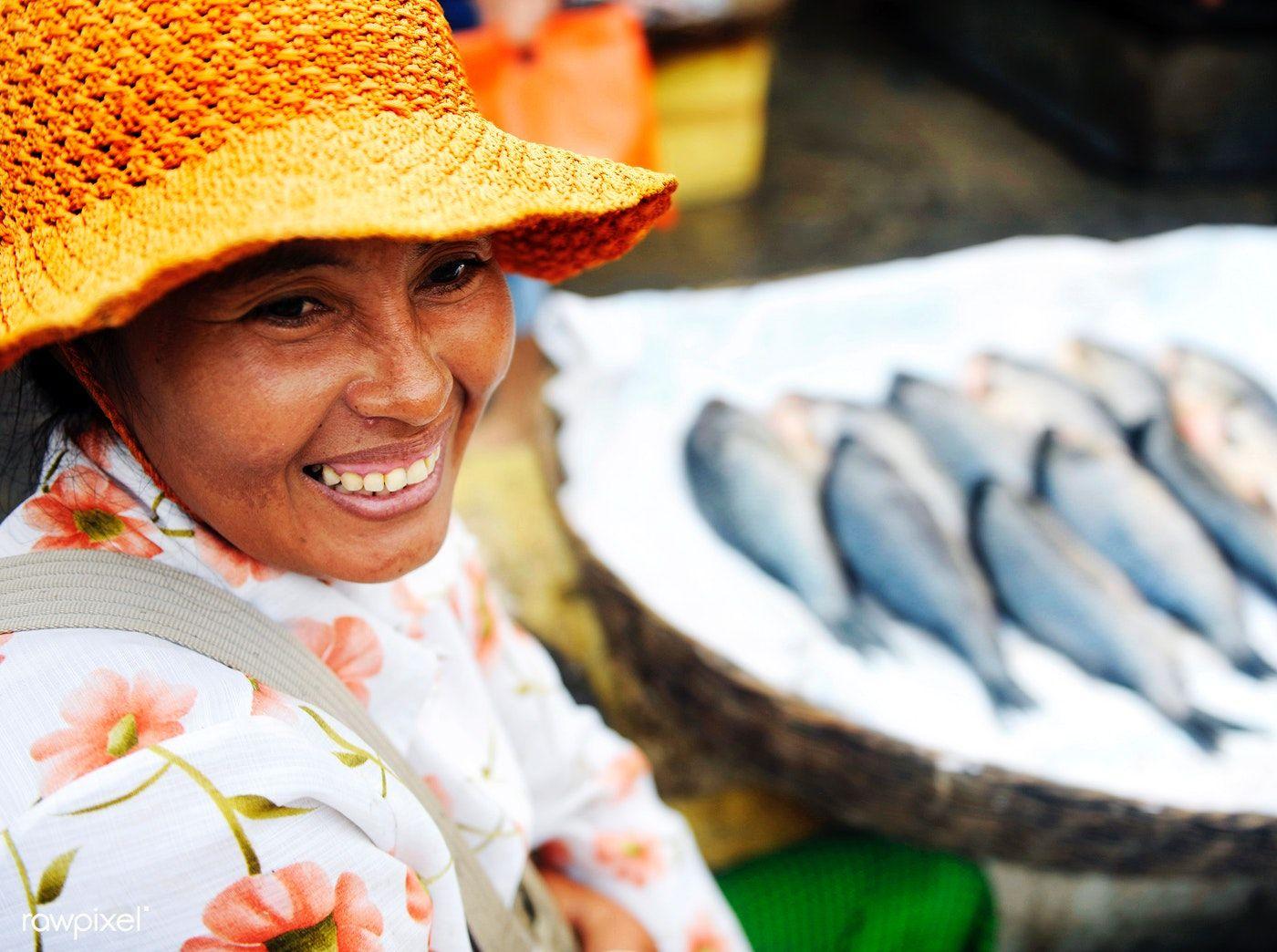 Download premium photo of Indigenous Cambodian woman