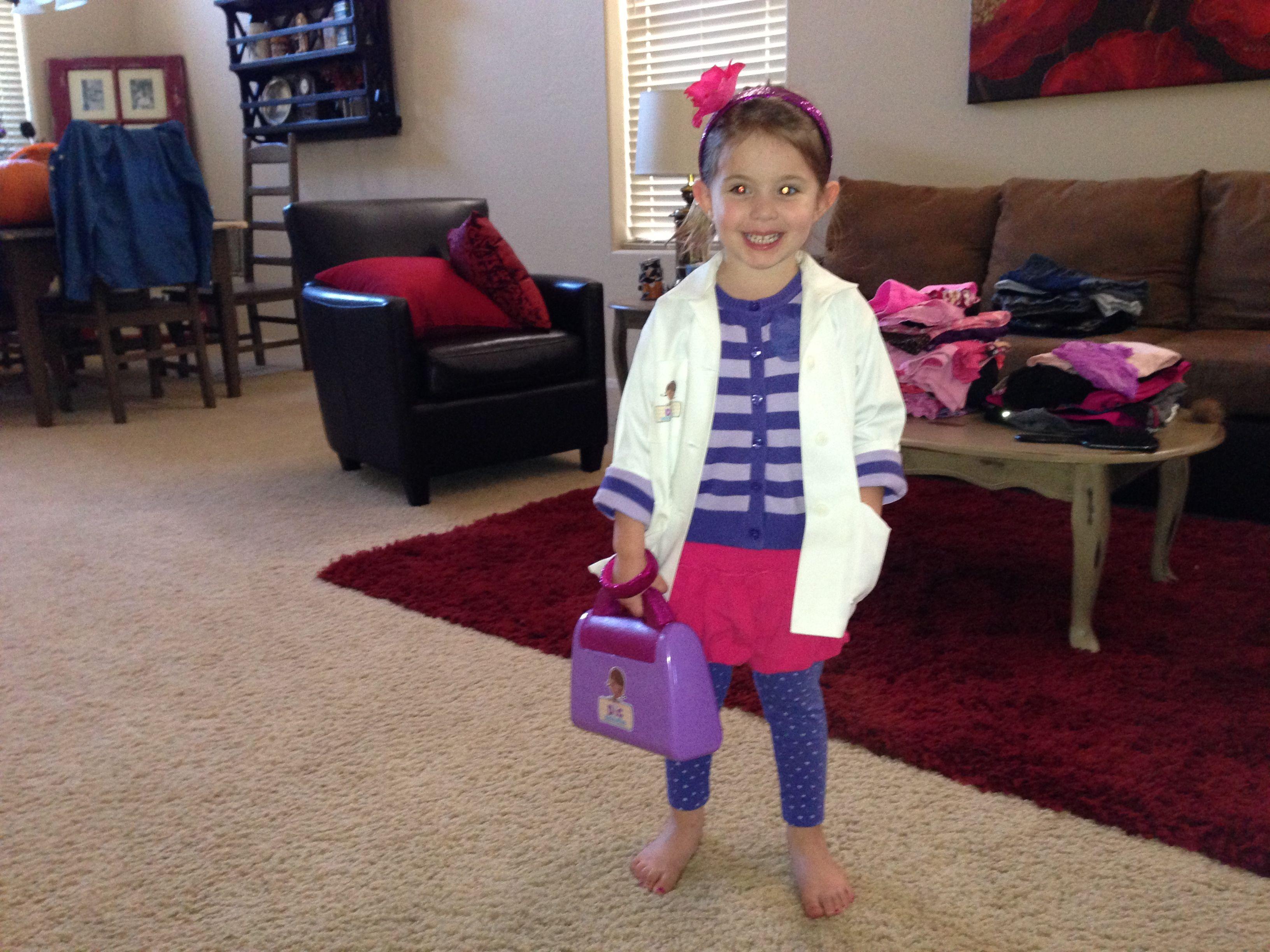 DIY Doc McStuffins costume | Diy | Pinterest | Doc mcstuffins ...
