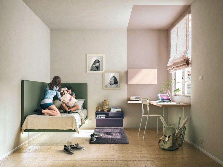 Letto singolo per camerette GIZMO by Lago design Daniele Lago | home ...