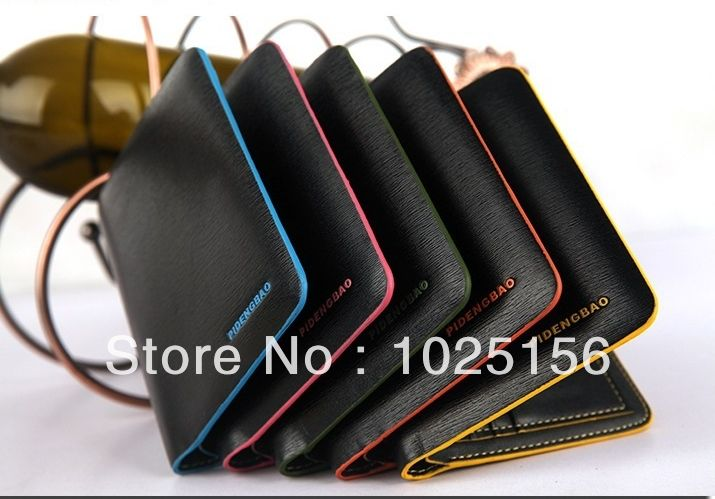 Free shipping Men's wallets PU & Genuine Leather Waterproof  wallets Fashion Design card holder-in Wallets from Luggage & Bags on Aliexpress.com | Alibaba Group