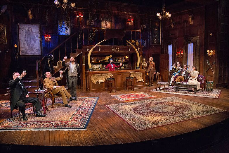 The Explorers Club Delaware Theatre Company Scenic Design By Alexis Distler Lighting By Rob Denton Explorers Club Scenic Design Explore