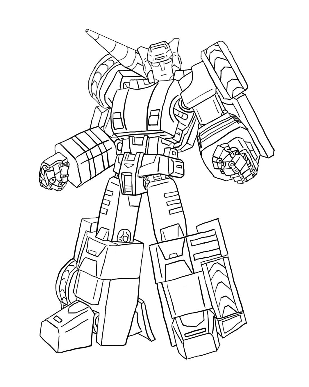 Coloring Transformers Sideswipe In 2020 Transformers Coloring Pages Toy Story Coloring Pages Coloring Pages