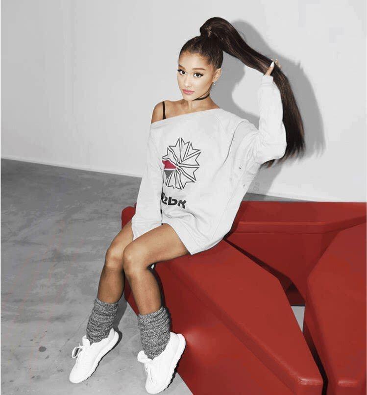 Ariana x Reebok  92339e3c5