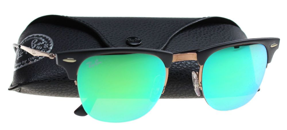 c41bba1763 eBay  Sponsored New Ray-Ban Sunglasses Men RB 8056 Black 176 3R RB8056 49mm
