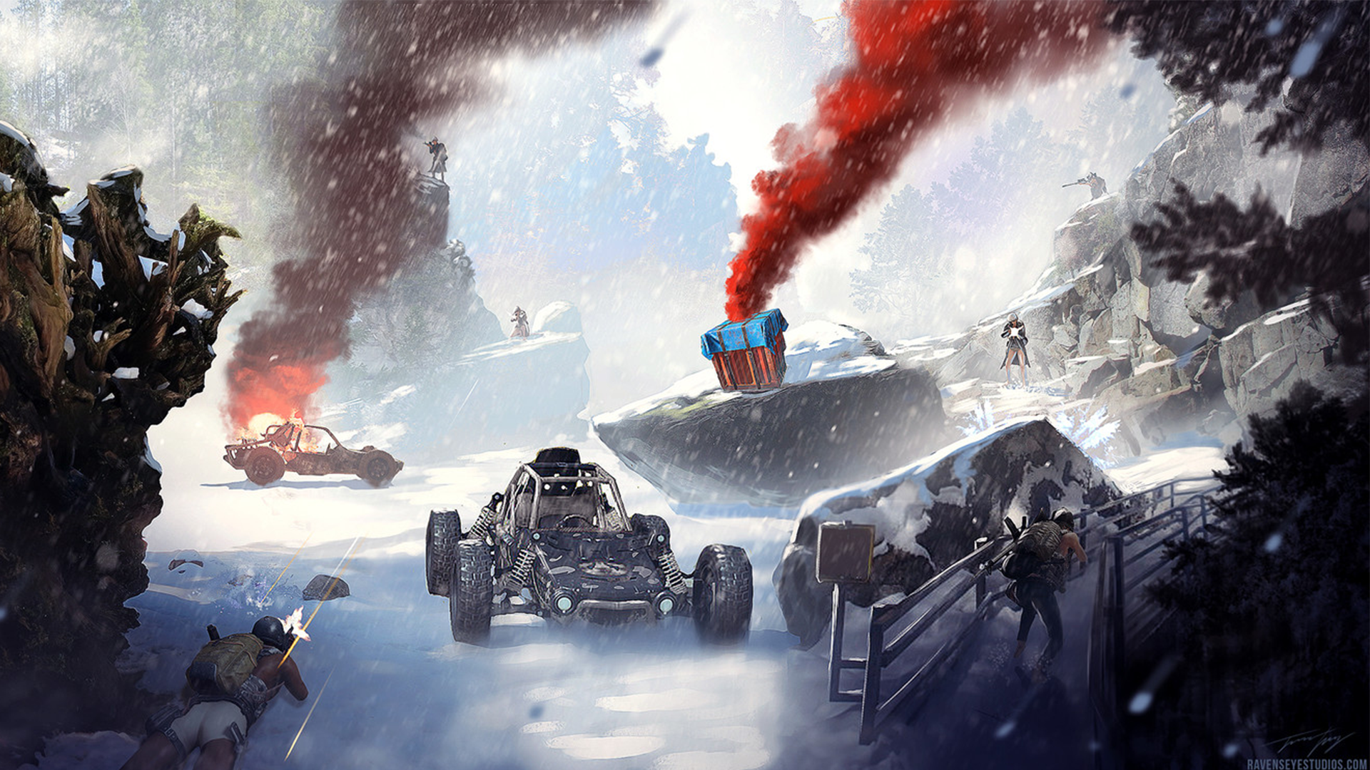 Pubg Mobile Snowmap Update Mobile Wallpaper Android Game Wallpaper Iphone Wallpaper