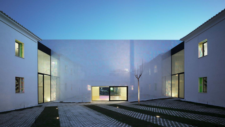 COR ASOCIADOS ARQUITECTOS, Jesus Olivares + Miguel Rodenas, David Frutos · Music Hall and House in Algueña MUCA. Spain · Divisare