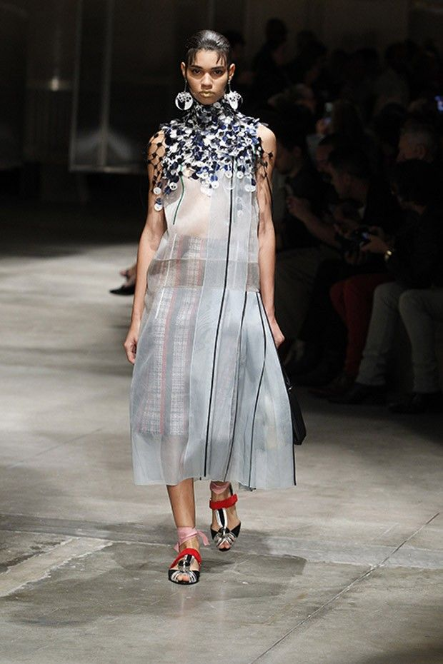 Mfw Prada Spring Summer Dresses 2016 2017 Womens Wear Collection