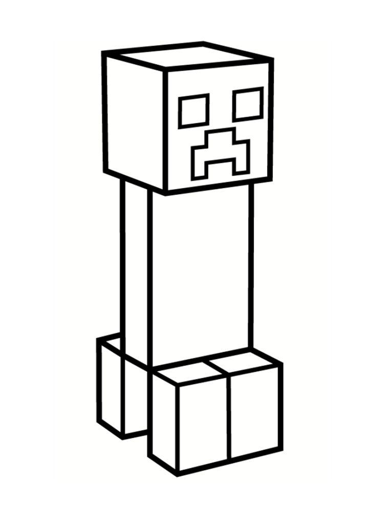 Coloriage Minecraft 20 Modèles à Imprimer Gratuitement