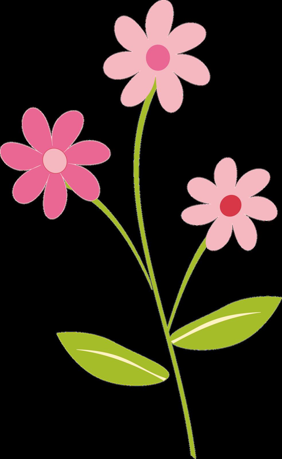 Flowers Border Clipart Png Clipartsgram Com Bunga Kartun Romantis