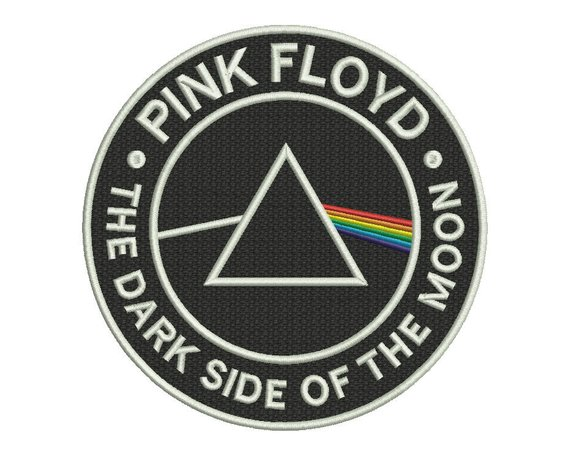 92a9dffda0f3a Pink Floyd Dark Side Embroidery Design - 4 SIZES | Products ...