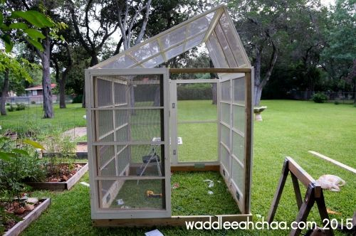 Etonnant DIY Backyard Butterfly House Made From Window Screens From Waddleeahchaa.com